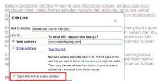 Jangan Remehkan Link Tab Baru di Blog Anda