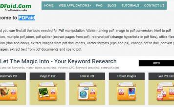 Tutorial Compress PDF Online Terbaik Menggunakan PDFaid