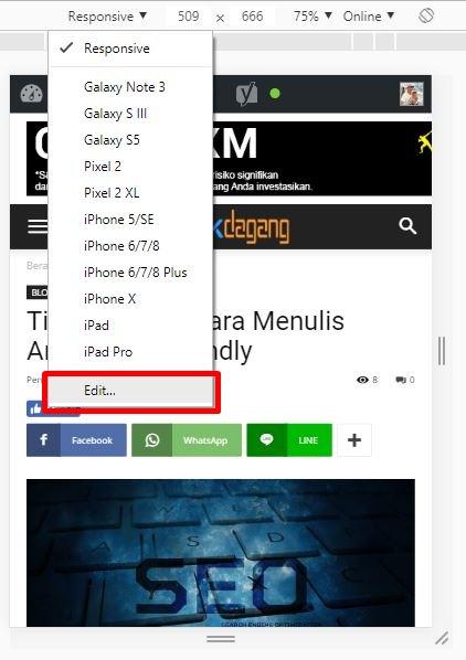 Cek mobile friendly blog kamu dengan mudah tanpa tools