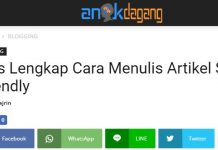 Cara cek mobile friendly situs blog kamu
