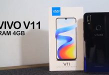 Spesifikasi Vivo V11 RAM 4GB, Smartphone Premium Paling Diandalkan