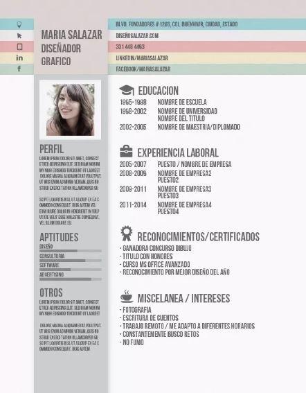 Contoh CV Lamaran Kerja dengan Desain yang Menarik, Simpel dan Kreatif