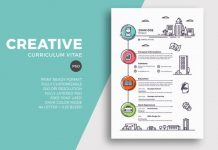 Contoh CV Lamaran Kerja dengan Desain yang Menarik dan Kreatif