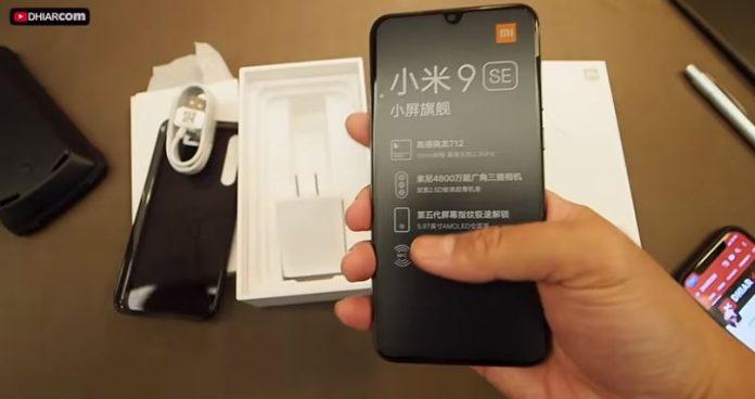 Spesifikasi Xiaomi Mi 9 SE RAM 6 GB