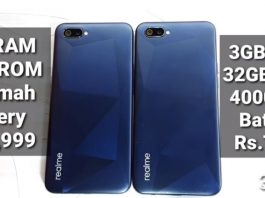 Spesifikasi Realme C2 RAM 2GB dan 3GB